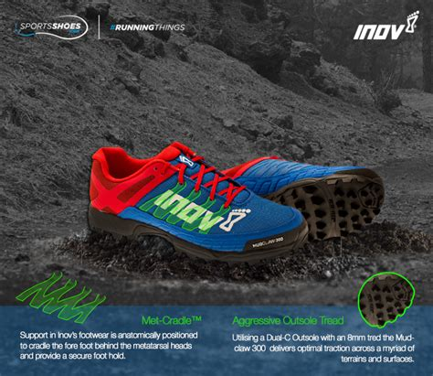 inov 8 mudclaw 300 fell running shoes inov 8 mudclaw 300 fell running shoes precision fit