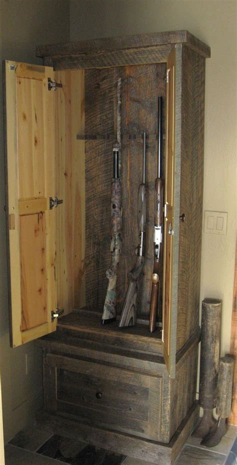 Gun Cabinet In Closet by How To Build A Gun Cabinet In A Closet Woodworking