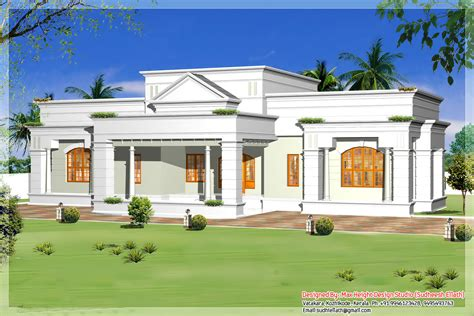 single storey house design plan single story modern house