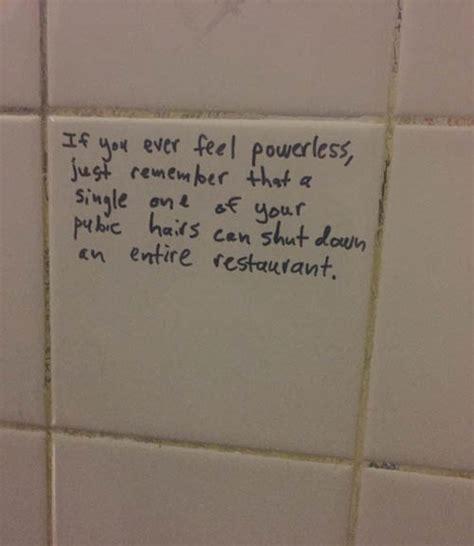 bathroom wall poetry feeling powerless