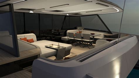 catamaran designs home builder vantage 86 new catamaran from new company megayacht news