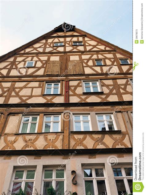 ob house traditional half timbered house in rothenburg ob der