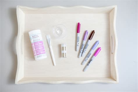 msc decoupage glue learn how to make your own wedding guest book serving tray