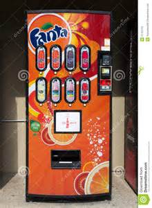 fanta soda machine editorial photography image 21752112