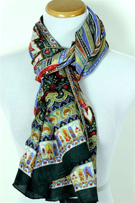 Women's Exotic Silk Scarf  Banarsi Designs