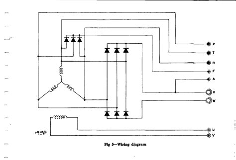 panel wiring diagram of an alternator efcaviation