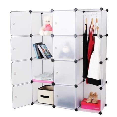 armoire penderie et etagere armoire etagere penderie modulable achat vente