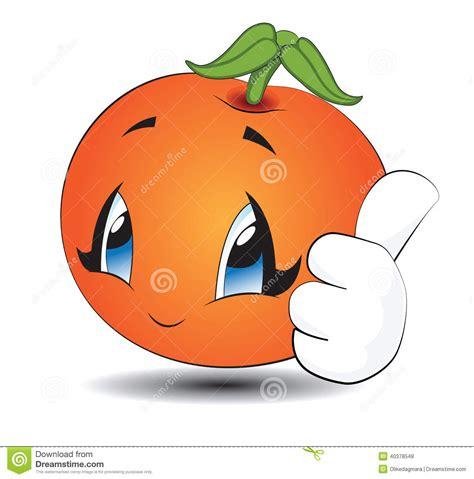 imagenes de naranjas kawaii naranja de kawaii de la historieta ilustraci 243 n del vector