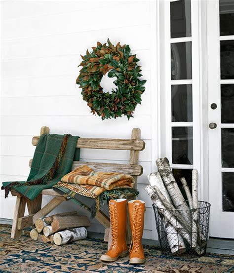winter porch decorating ideas easy thanksgiving decorating ideas home bunch interior