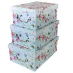 decorative boxes storage organisers ebay