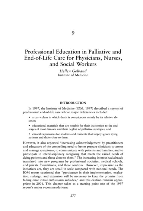 social worker report template palliative definition