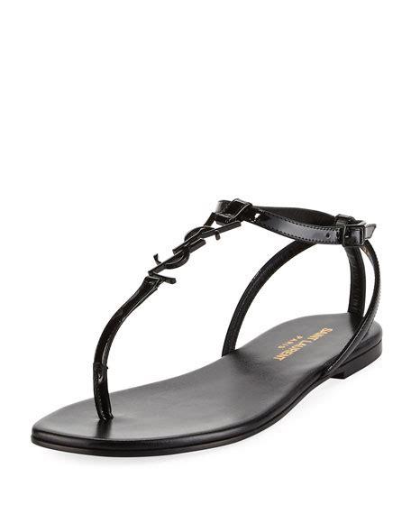 Flat Shoes Ysl 888 flat sandals slide at neiman