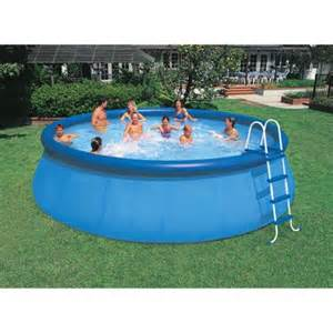 Backyard Pools Walmart Intex 18 X 48 Quot Easy Set Swimming Pool Walmart