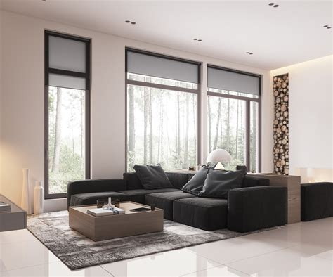 Low Living Room Furniture Minimalist Muted Colour Home With Scandinavian Influences Assess Myhome