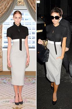 Beckham Sell Outs A Dress Before It Hits The Shop Floor by Beckham S Dress Line Selling Out At Bergdorf