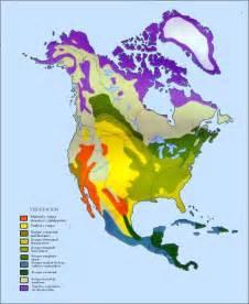 vegetation of america