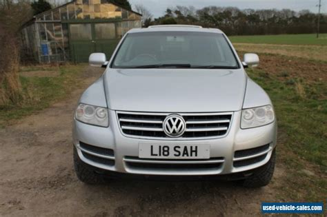 volkswagen touareg for sale uk 2004 volkswagen touareg for sale in the united kingdom