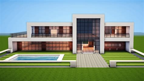 create a house minecraft how to build a modern house easy tutorial