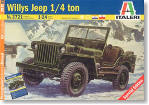 Jeep Model Codes Willys Jeep 1 4 Ton Plastic Model Hobbysearch