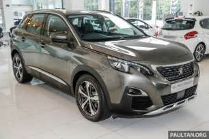 Peugeot In Malaysia 2017 Peugeot 3008 Launched In Malaysia 1 6l Turbo Engine