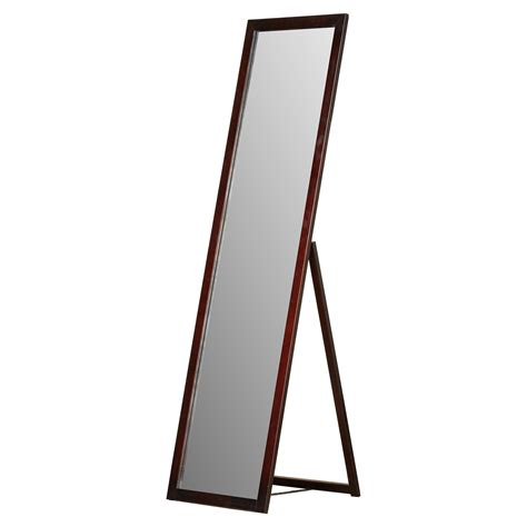 Mirror With Stand varick gallery galeton length stand mirror reviews