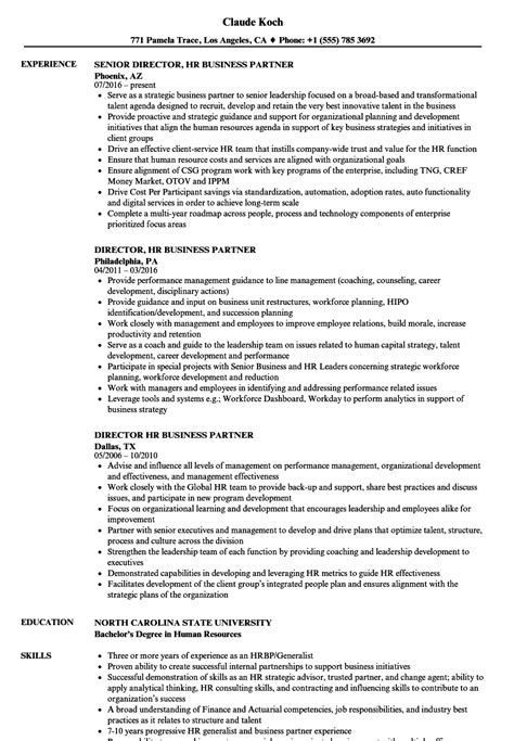 Hr Business Partner Resume by Director Hr Business Partner Resume Sles Velvet