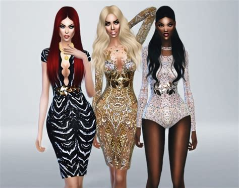 sims 4 royalty dresses haute couture spring summer 2014 at fashion royalty sims