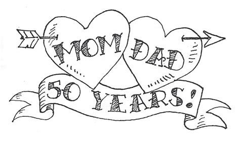 drawing for parents vegan eats and treats my parents 50 year anniversary