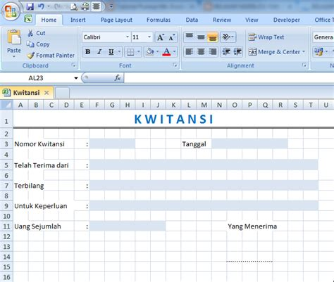 contoh format budget excel template kwitansi excel calendar template word