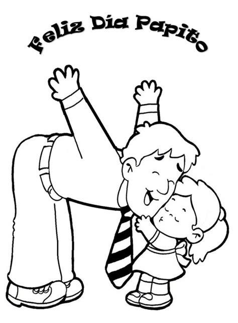 dibujo para colorear de dia del padre 60 im 225 genes del d 237 a del padre dibujos para colorear