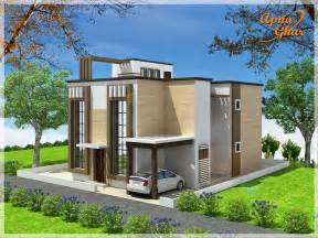 Home Desig Duplex House Design Apnaghar House Design
