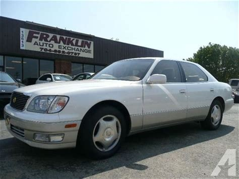manual cars for sale 1999 lexus ls security system 1999 lexus ls 400 for sale in indian trail north carolina classified americanlisted com