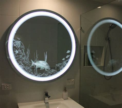 led illuminated bathroom mirror l65 to measure custom size 1000 images about reavie on pinterest pewter pebble