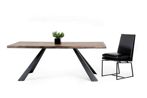 Rustic Contemporary Dining Table Wood Dining Table Vg196 Modern Dining
