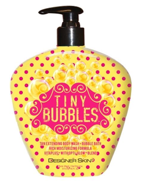 Tiiiiny Buubblesss by Designer Skin World S Best Self Tanners Bronzers