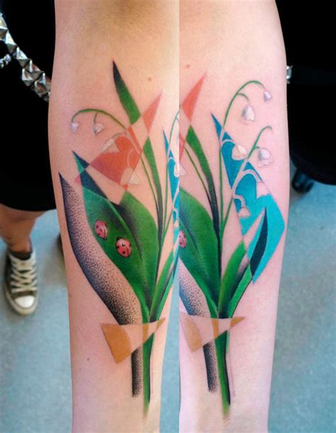 mariusz trubisz lily of the valley tattoo tattoomagz