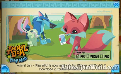animal jam app animal jam play app released for all ios devices