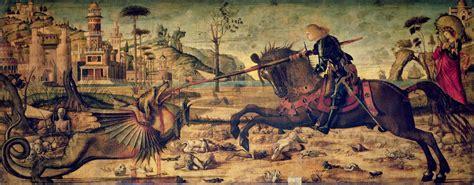 saint george and the dragon carpaccio s saint george and the dragon ferrebeekeeper