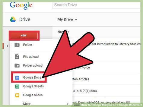 How To Change Margins On A Google Document 7 Steps 7 Does Docs