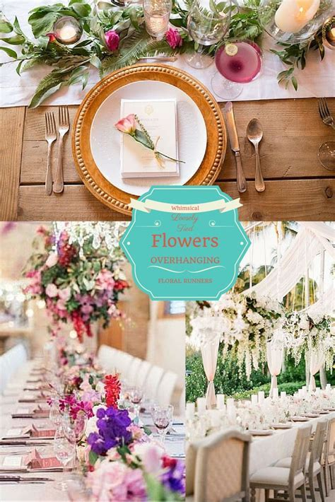 2016 Wedding Trend   Enchanted Garden Wedding Reception Decor