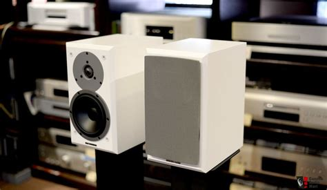 Speaker Advance M10 dynaudio emit m10 bookshelf speakers lnib white photo