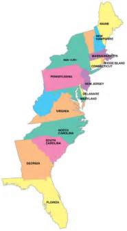 road map us eastern seaboard home port charts