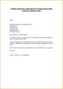 goodly thank you letter after rejection letter