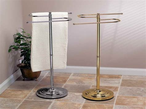 towel stands for bathrooms free standing towel racks for bathroom with fine material stroovi