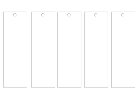 blank bookmark template for word calendar template 2016