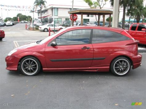2002 ford focus zx3 sangria metallic 2002 ford focus zx3 coupe exterior