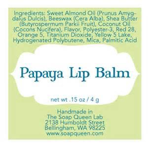lip balm label templates free downloadable file