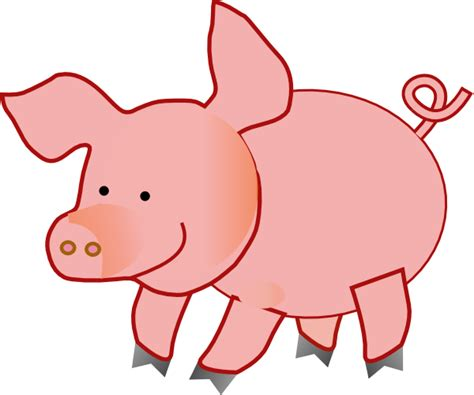 Pigs Clipart pig clip at clker vector clip royalty free domain