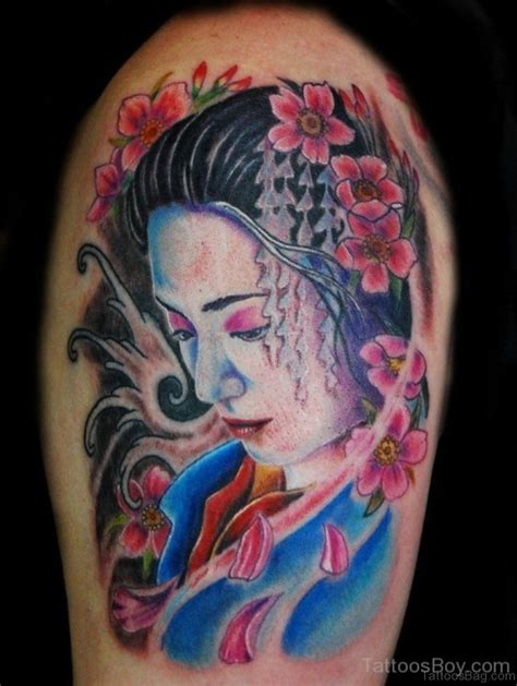 looking for tattoo designs 65 graceful geisha tattoos on shoulder