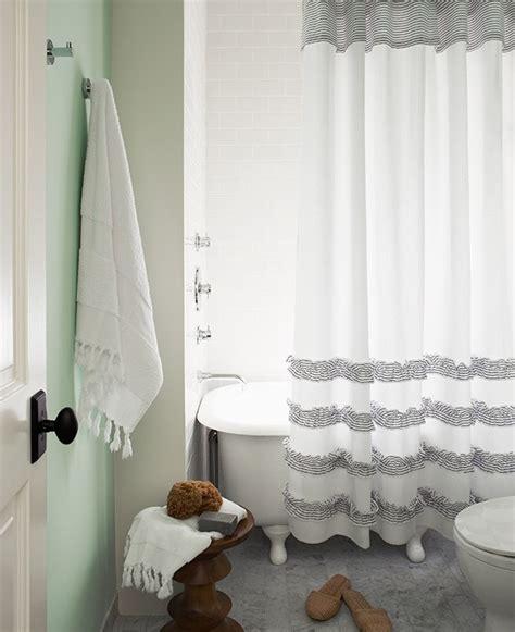homemade shower curtain diy fringe shower curtain